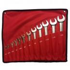 Набор ключей дюймовых комбинированных (1/4-1.1/4'') 12 предметов