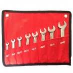 Набор ключей рожковых (6-22 мм) 8 предметов
