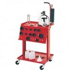 Пневматическая установка для замены тормозной жидкости в комплекте