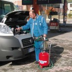 Установка для замены масла с предкамерой (24 литра)