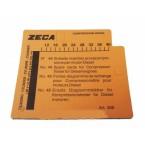 Комплект карточек для дизельного компрессометра